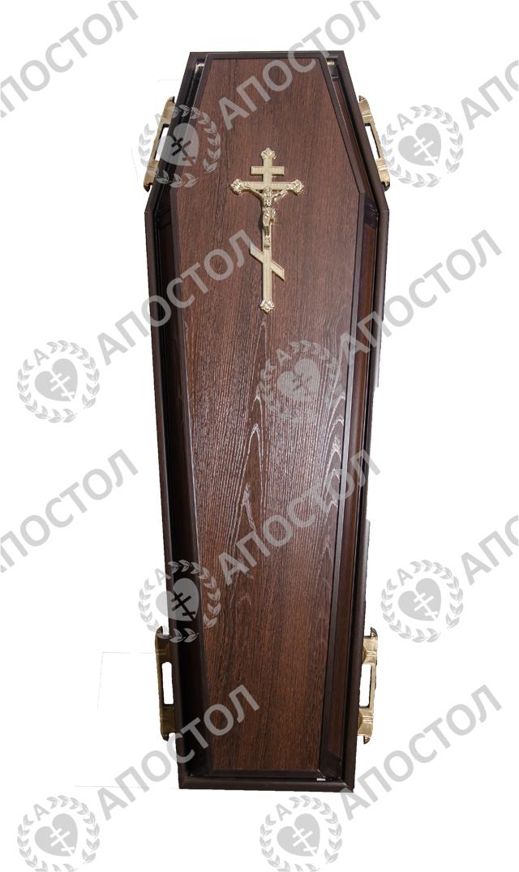 Гроб ламинированный для похорон и кремации