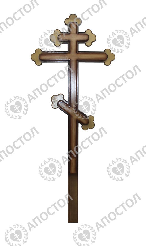 Резной крест для похорон