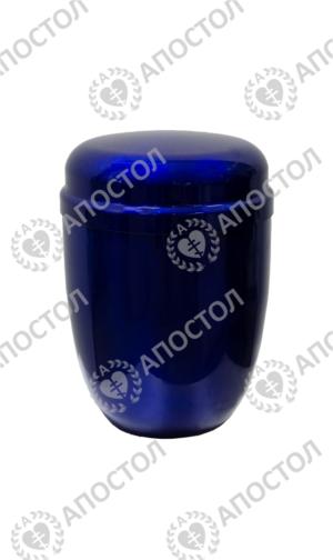 Урна синий металлик для праха