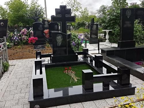 Кладбище Пашино в Новосибирске