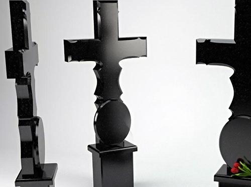 Крест на могилу из гранита