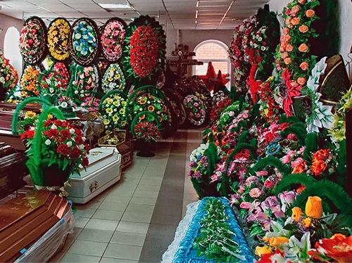Оптово розничная торговля ритуальными товарами