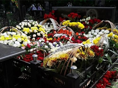 Первомайское кладбище в Новосибирске