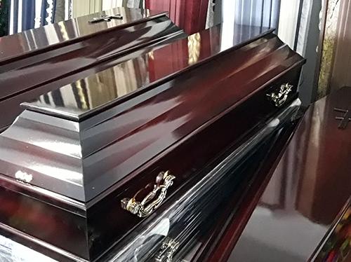 Окрашенные гробы
