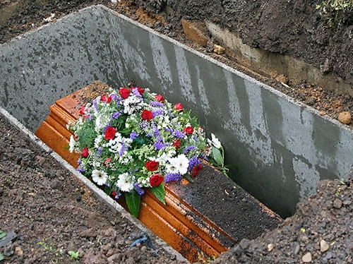 Порядок захоронения на кладбище