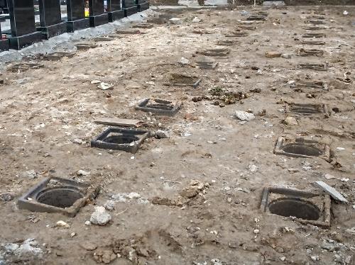 Захоронение урны на кладбище