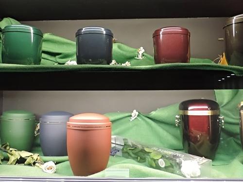 Стоимость урн в крематории